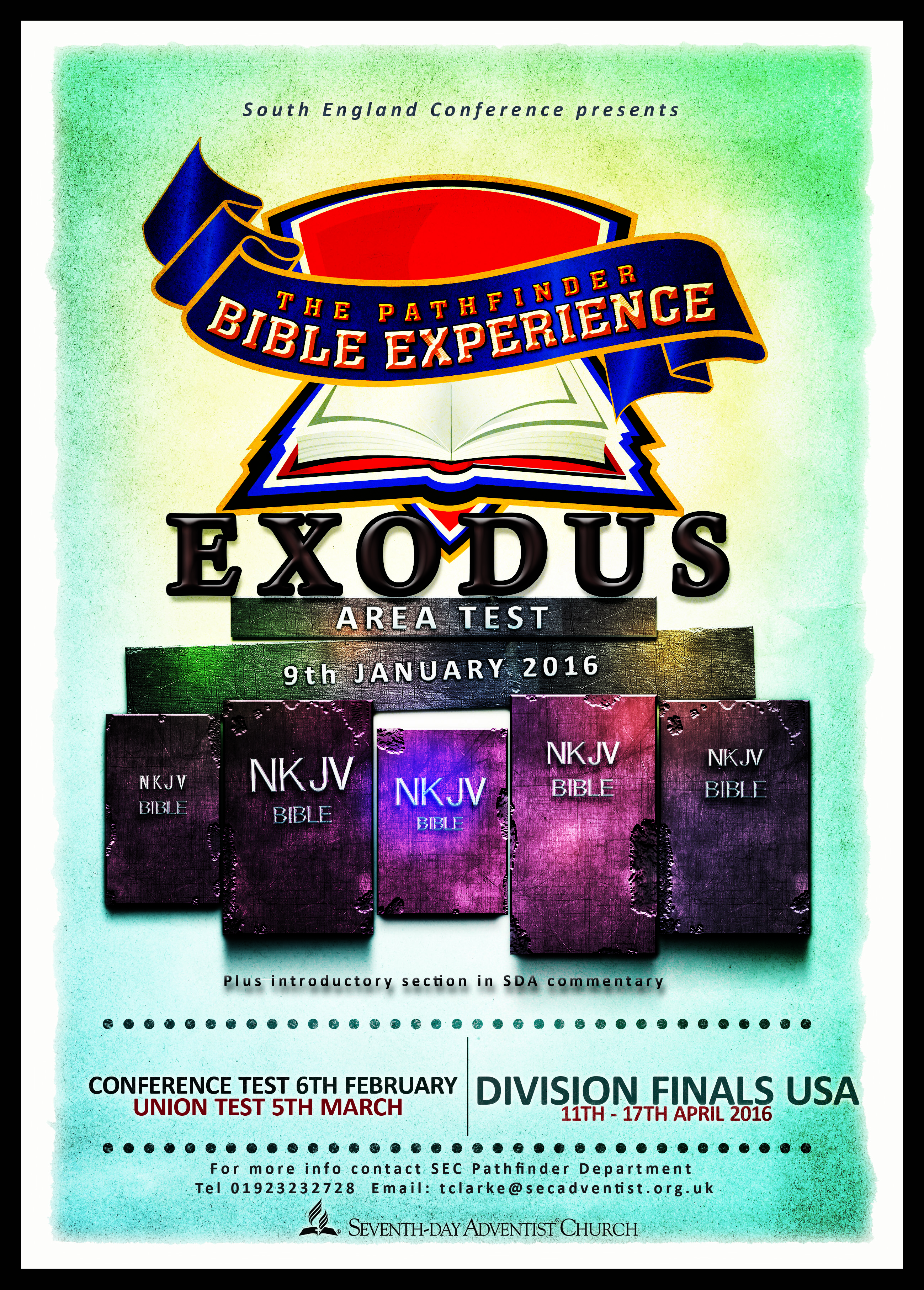 Adventist Youth - Event: PF Bible Experience Conference Tests